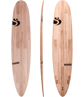 surf board detail